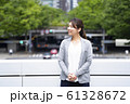 女性のビジネスイメージ 61328672