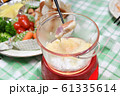 自宅で作るチーズフォンデュ 61335614