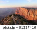 夕方のグランドキャニオン アメリカ アリゾナ 61337416