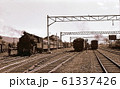昭和44年 美唄鉄道4号機と国鉄D51 美唄駅 北海道 61337426