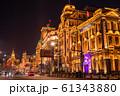 《上海》上海租界の洋館・外灘の夜景 61343880