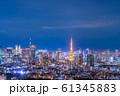 恵比寿ガーデンプレイスからの夜景 【東京都】 61345883