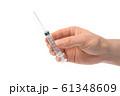 注射器 注射 実験室 61348609