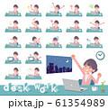 flat Formal jacket skirt women_desk work 61354989