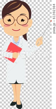 白袍眼鏡女人指點棍子左手02 61392364