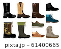 Shoes for men icons set 61400665