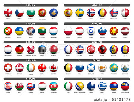 European soccer tournament qualifying draw 2020 . 61401478