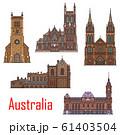 Australia buildings, city architecture landmarks 61403504