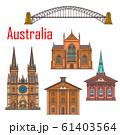 Australia architecture, Sydney landmark buildings 61403564