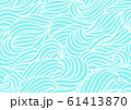 Seamless wave pattern. Background with sea, river or water texture. 61413870