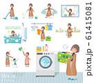 flat type big size coat women_housekeeping 61415081