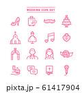 WEDDING ICON SET 61417904