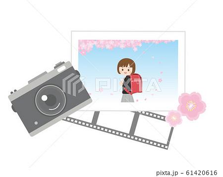 小学一年生 入学写真 61420616