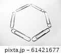 クリップで描いた六角形 61421677