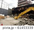 解体工事現場と重機 61453339