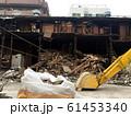解体工事現場と重機 61453340