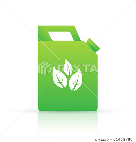 Biofuel canister vector icon illustration isolated 61458790