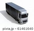 白バックに大型電動トラックのイメージ 61461640