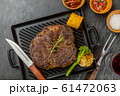 ステーキ Large American beef steak chunks 61472063