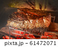 ステーキ Large American beef steak chunks 61472071