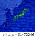 日本地図の歯車の組み合わせ 61472246