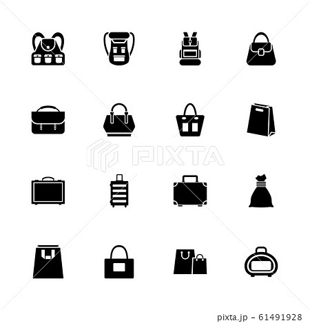 Bag - Flat Vector Icons 61491928