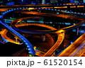 東大阪・ジャンクションを見下ろした夜景 61520154