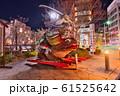 長野県 松本市 夜 なわて通り カエル大明神 61525642