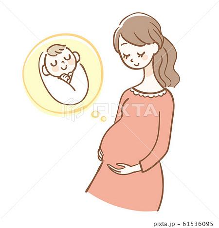 妊婦 赤ちゃん 61536095