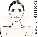 女性 美容イメージ 61539302