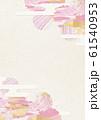 桜-雪輪-ピンク-春-白和紙-和素材 61540953