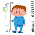 子供の入院 61548885