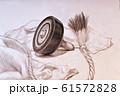 コマ 鉛筆画 61572828