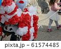 子供祭 子供引っ張る 61574485