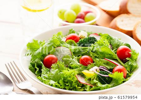 カラフル 野菜サラダ 朝食 ヘルシー 61579954