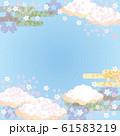 背景素材-桜の空2 61583219