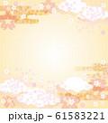 背景素材-桜の空3 61583221