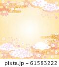 背景素材-桜の空3テク 61583222