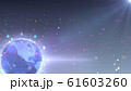 地球 宇宙 世界 ワールド デジタル ネットワーク テクノロジー アメリカ, 北米 61603260
