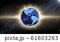 地球 宇宙 世界 ワールド デジタル ネットワーク テクノロジー アメリカ, 北米 61603263