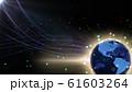 地球 宇宙 世界 ワールド デジタル ネットワーク テクノロジー アメリカ, 北米 61603264
