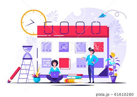 time management concept 61610280