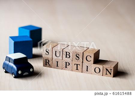 SUBSCRIPTION サブスクリプション 定額課金 61615488