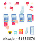 cashless flat_payment with credit card 61636670