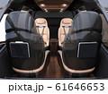空飛ぶタクシーのインテリアイメージ。 61646653