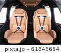 空飛ぶタクシーのインテリアイメージ。 61646654