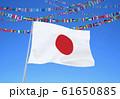 日本国旗と世界国旗 61650885