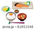 Breakfast set meal 61651548