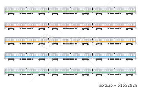 日本の通勤電車 61652928