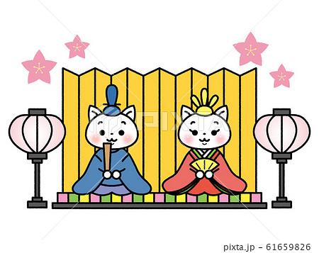 ひな祭りイメージ 61659826